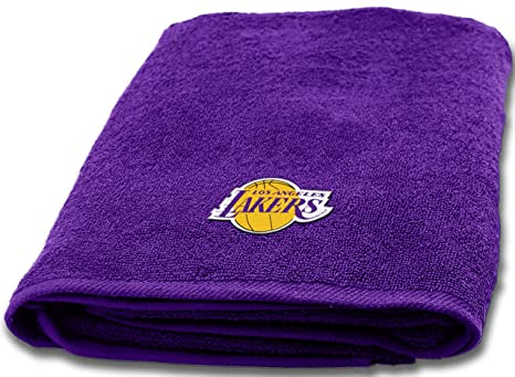 "NBA Los Angeles Lakers 25 ""x50"" diseño de toalla de baño"