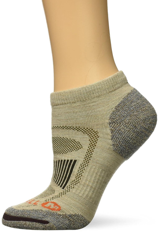 Merrell womens standard Zoned Low Cut Light Hiker Sock Black s/m MEWF17E003-01