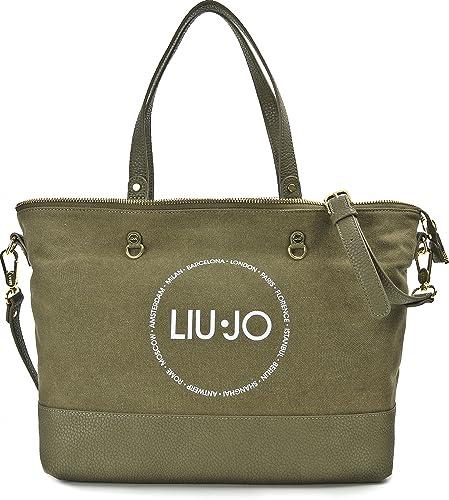 7ae7b1e631d8 Liu Jo, Cabas pour femme - vert - kaki,  Amazon.fr  Chaussures et Sacs