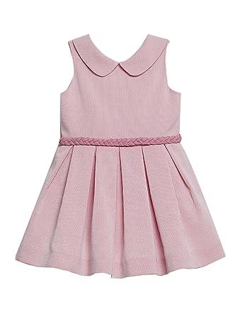 Vestido Niña Rosa Baby Rose Vestido Niña Fiesta Vestido