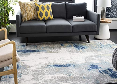 Safavieh Jasper Collection JSP101A Grey and Gold 6 x 9 Area Rug