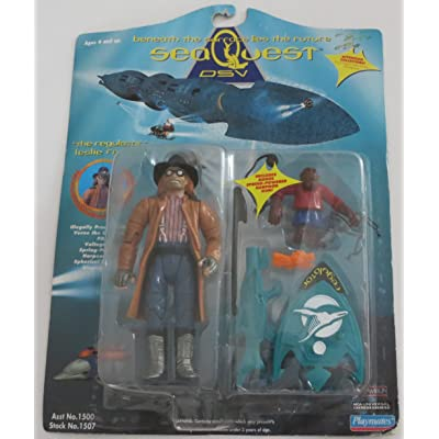 SeaQuest DSV The Regulator - Leslie Ferina Action Figure: Toys & Games