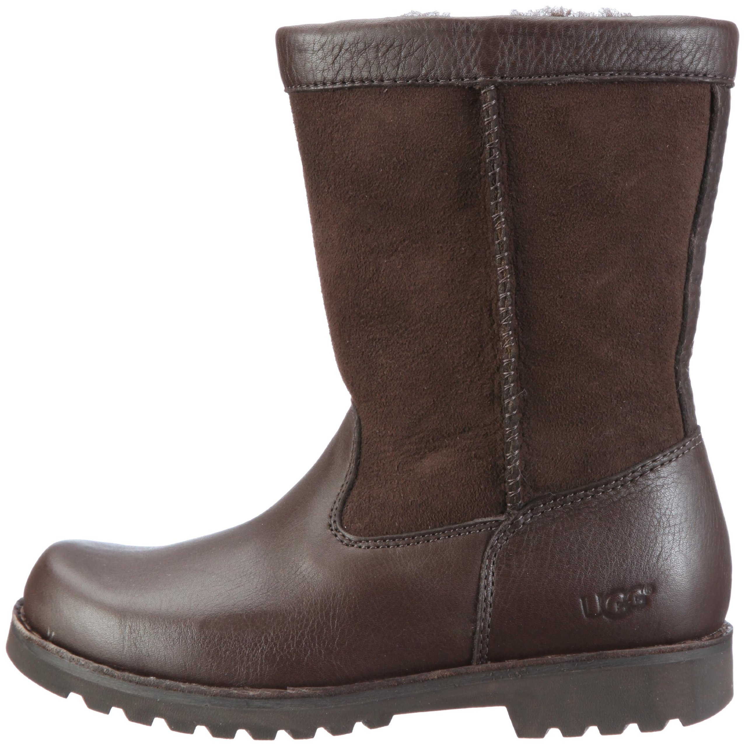 UGG Australia Children's Riverton Suede Boots,Chocolate/Chocolate,5 Child US by UGG (Image #5)