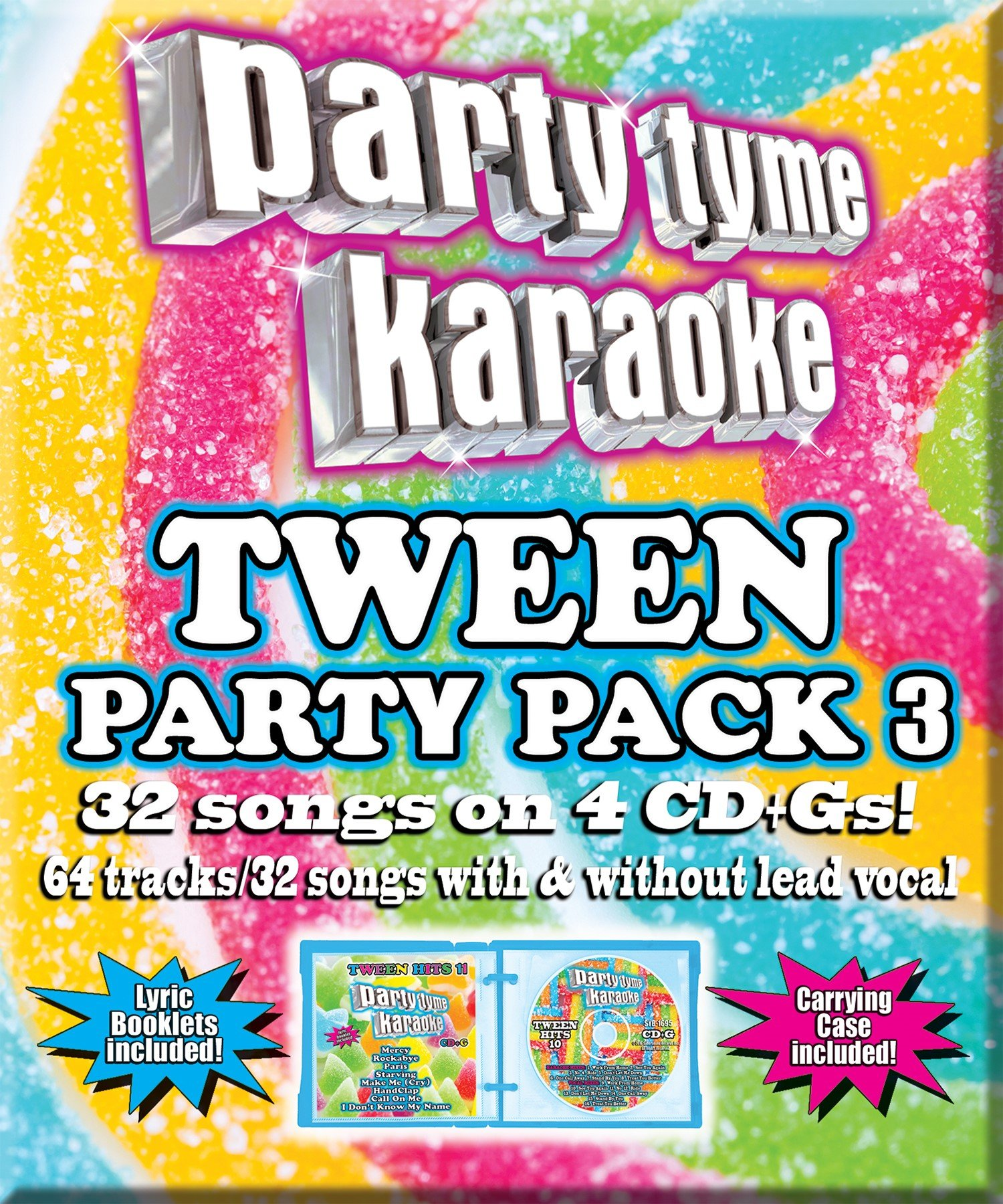 Party Tyme Karaoke - Tween Party Pack 3