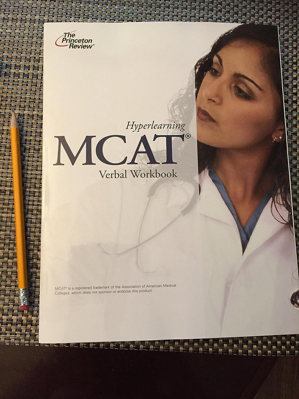 Workbooks tprh verbal workbook : Amazon.com: The Princeton Review Hyperlearning MCAT Verbal ...