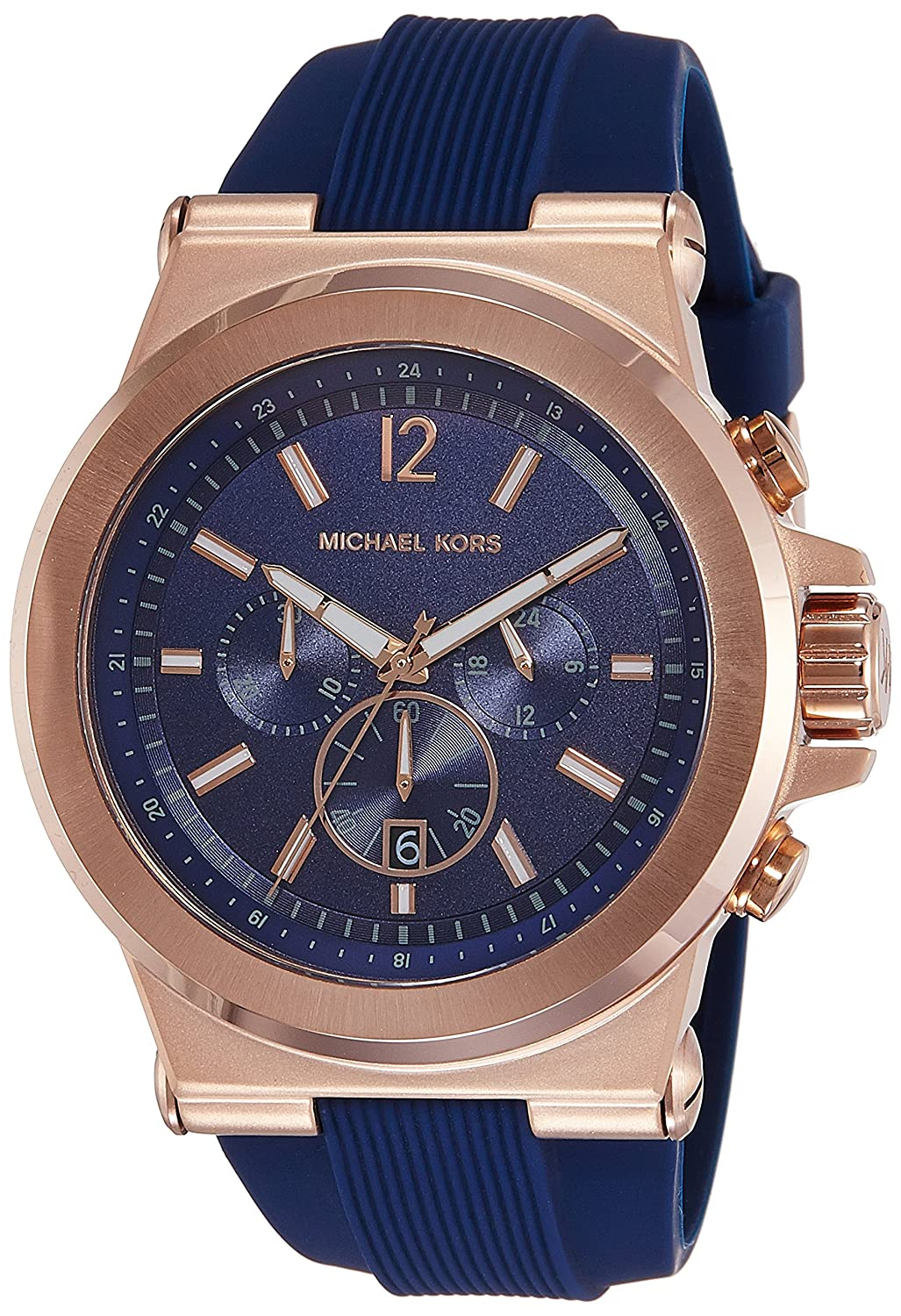 1ff43c105118 Amazon.com  Michael Kors Men s Dylan Rose Gold-Tone Watch MK8295  Michael  Kors  Watches