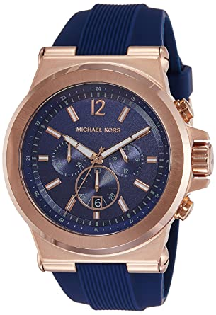 06747c8b577dc Amazon.com  Michael Kors Men s Dylan Rose Gold-Tone Watch MK8295  Michael  Kors  Watches