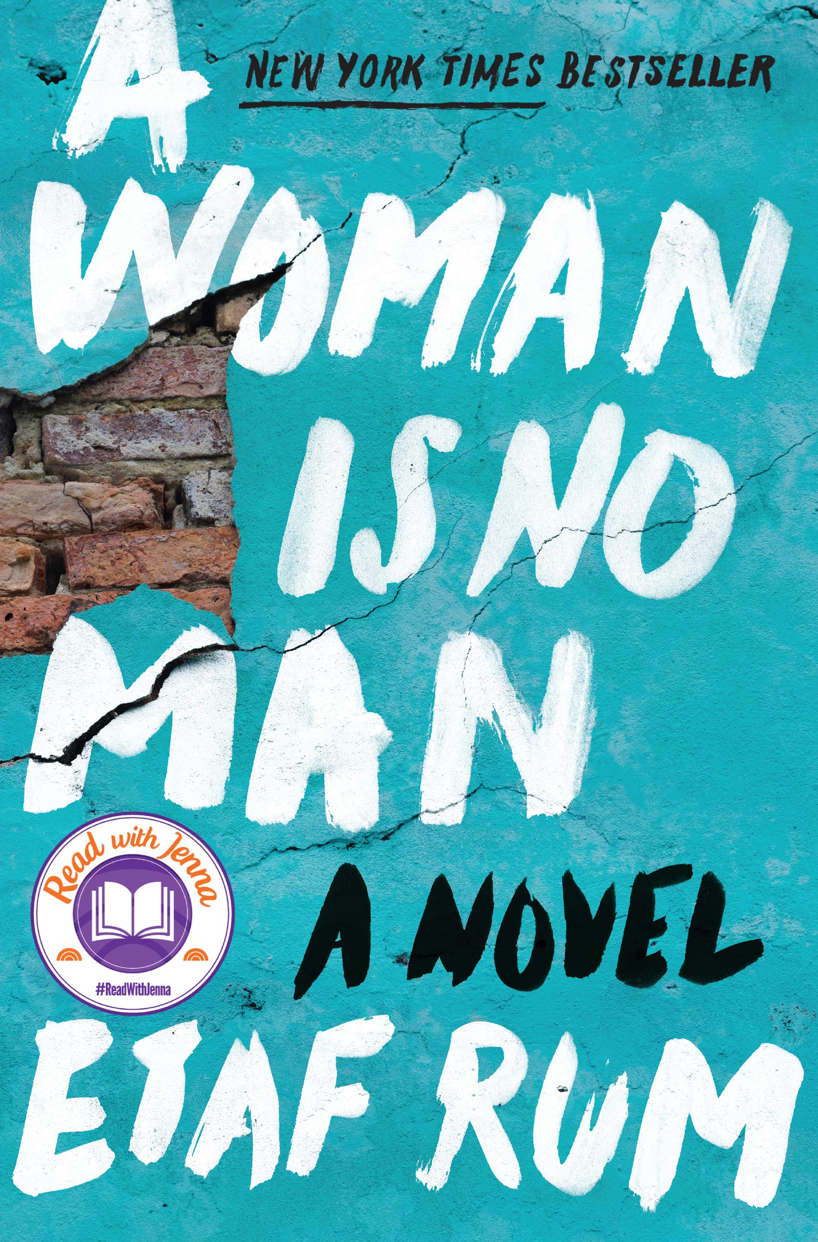 book cover: A Woman Is No Man
