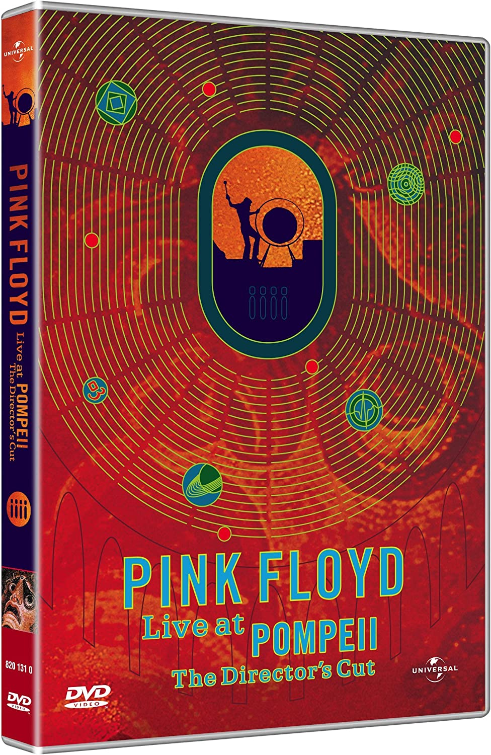 Pink Floyd Live At Pompeii The Director S Cut Dvd Italian Import Amazon Ca Music
