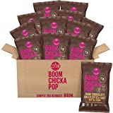 Angie's BOOMCHICKAPOP Dark Chocolaty Drizzled Sea Salt Kettle Corn, 5.5 Ounce Bag (Pack of 12 Bags)
