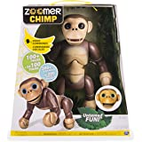 Electronic Pet by Zoomer Features Interactive Chimp with Voice Command, Movement and Sensors, Great Addition for Child's Learning Development