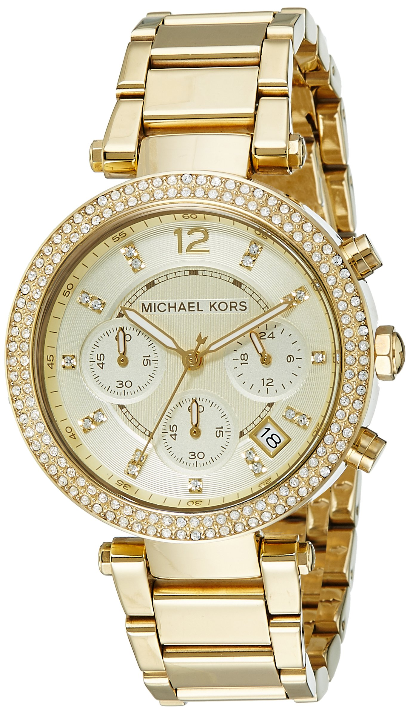 Michael Kors Women's Parker Gold-Tone Watch MK5354