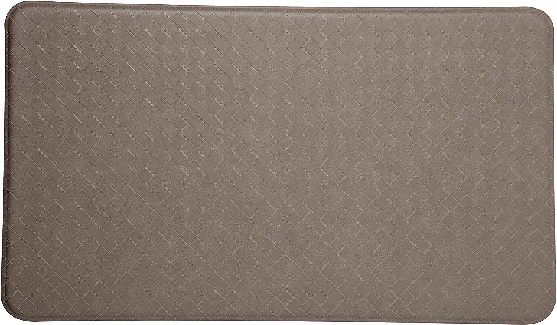 Black Imprint Anti-Fatigue Nantucket Series 20-Inch by 36-Inch Comfort Mats
