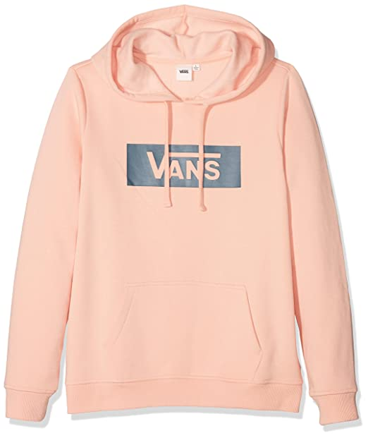 Vans_Apparel Damen Kapuzenpullover Open Road Hoodie Orange (Evening ...