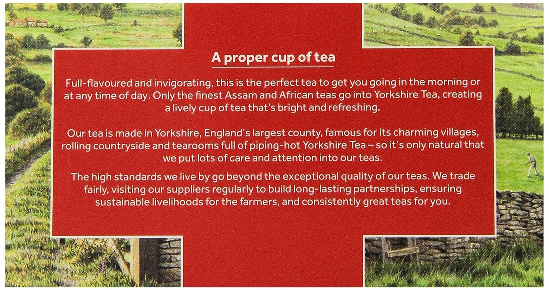 Yorkshire Tea 40 Count: Amazon.ca: Grocery \u0026 Gourmet Food