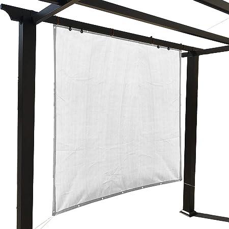Jet-Line Pavillon Safaga 3 x 3 m /Überdachung anthrazit Pergola Sonnenschutz UV Sichtschutz Garten Terrasse