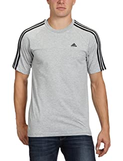 adidas herren t shirt essentials 3 stripes crew