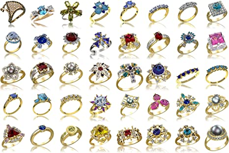 5 pcs Ladie/'s  ring Wax patterns for lost wax casting jewelry #21096