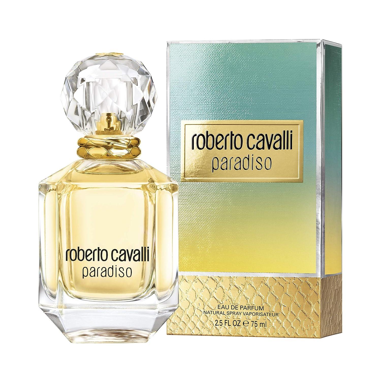 Roberto Cavalli - Paradiso - Eau de Parfum para mujer - 75 ml: Amazon.es: Belleza