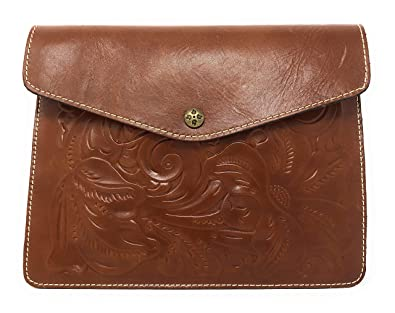 8d09182f6fa4 Patricia Nash Midi Portfolio Case Tooled Florence  Handbags  Amazon.com
