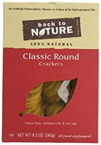 Back to Nature Crackers Classic Rounds, 8.5000-ounces (Pack of6)