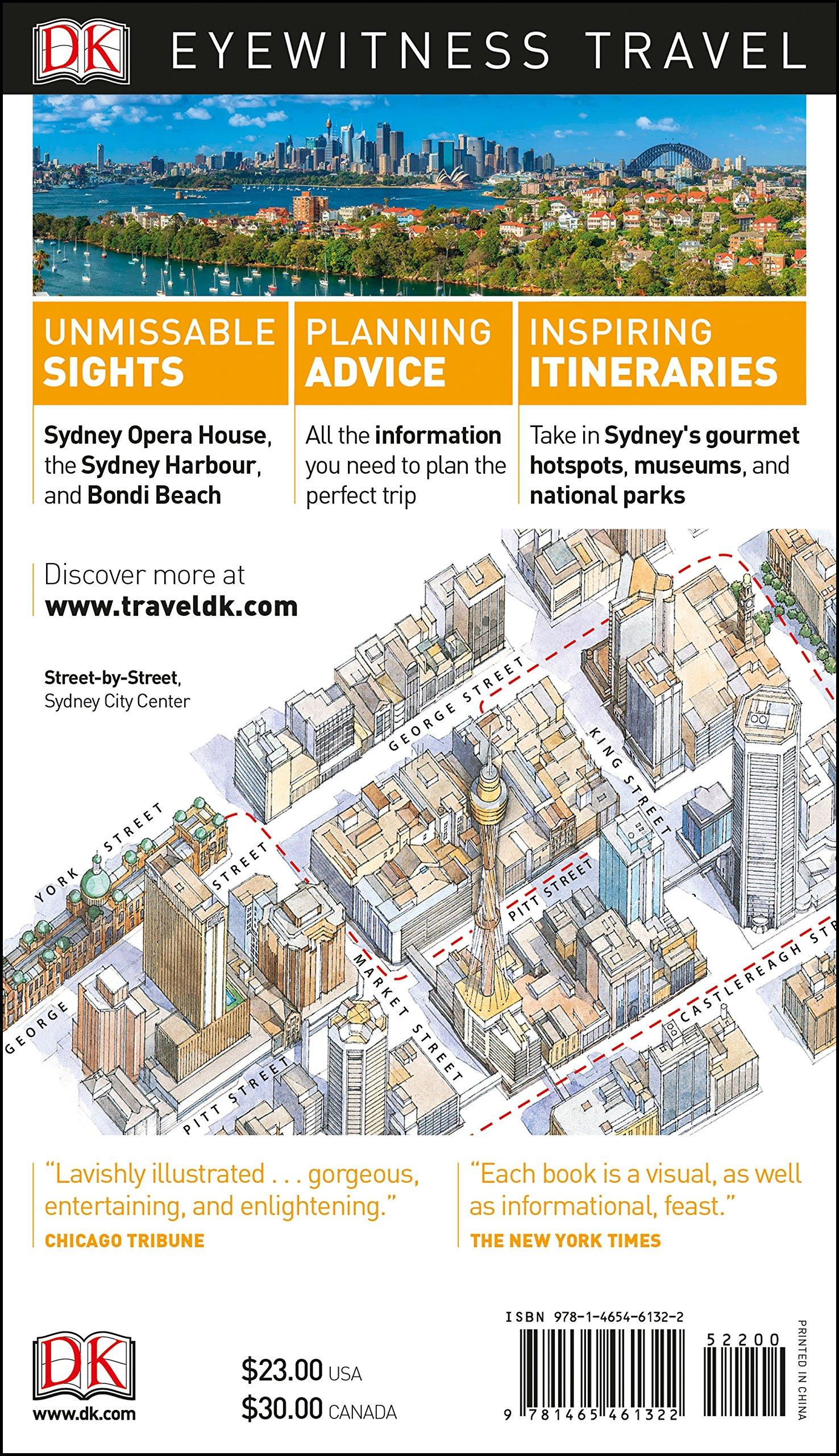 DK Eyewitness Travel Guide Sydney - 91cjJDgafAL - Getting Down Under