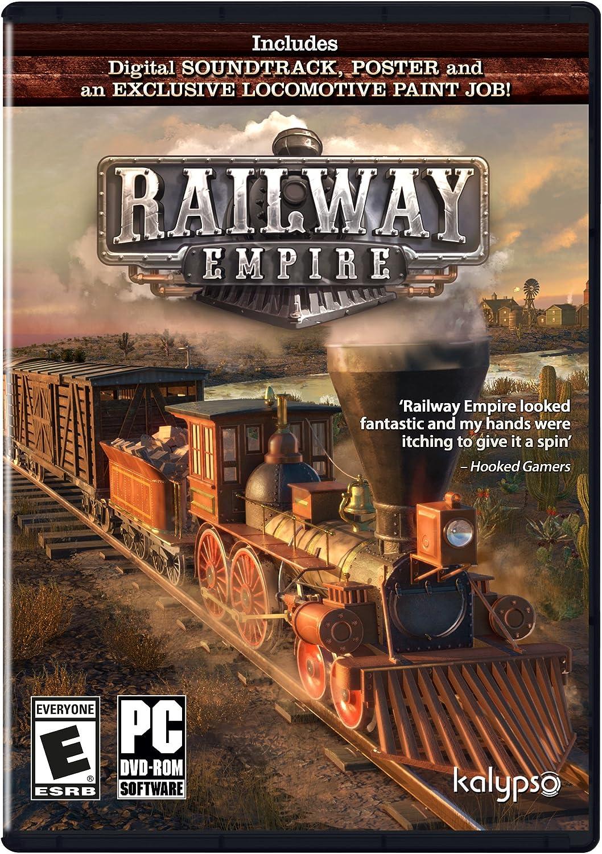 Amazon com: Railway Empire PC - PC: Video Games