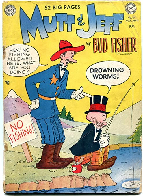 Mutt and Jeff issues 1956-1957, DC