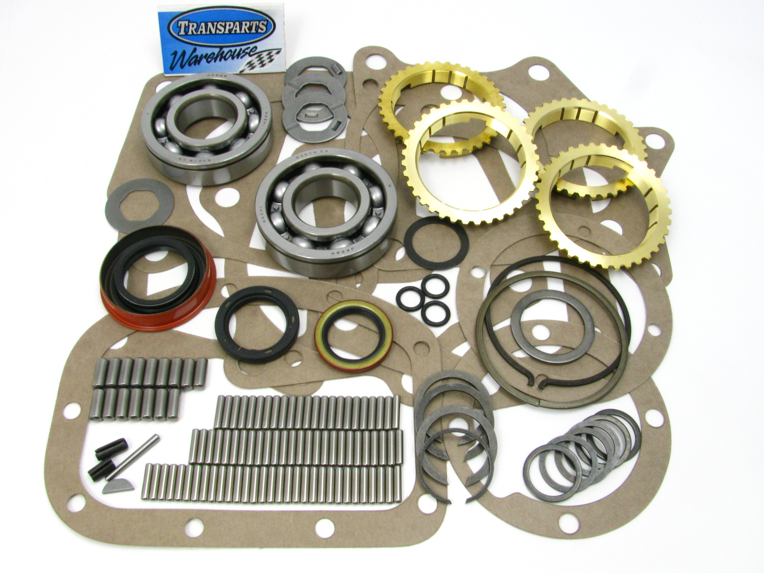 Transparts Warehouse BK177WS GM Chevy Super T10 Transmission Kit with Rings