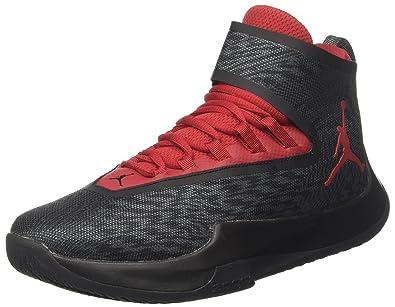 dcc740911c90 Nike Herren Jordan Fly Unlimited Basketballschuhe Grau (Black Wolf Grey Gym  Red-Anthracite