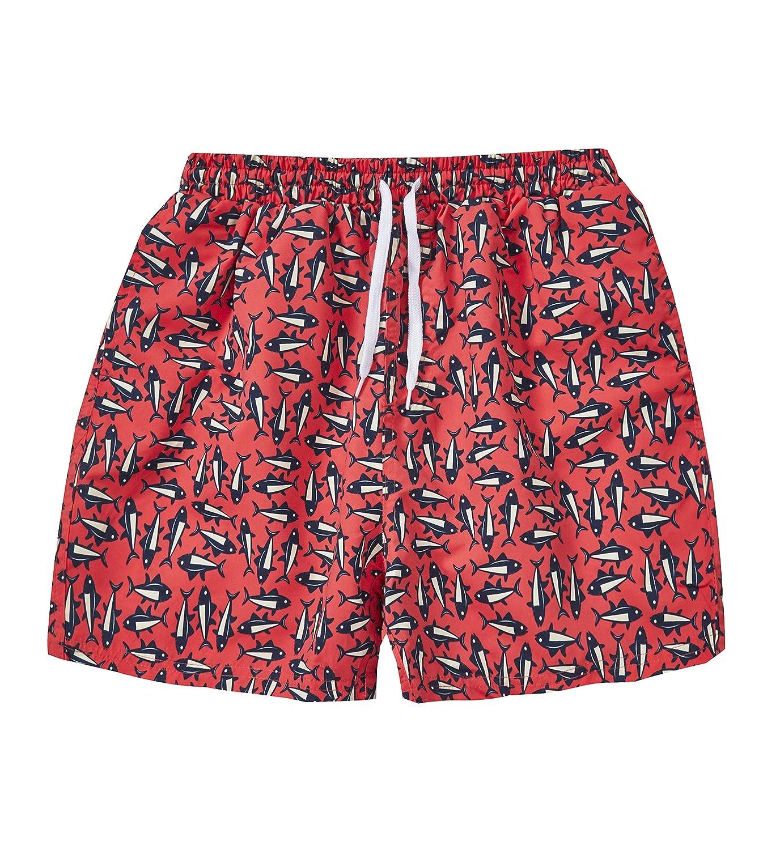 Co Mens Fish Print Swimming Shorts