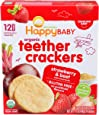 Happy Baby, Teether er Strawberry Pomegranate Beet, 12 Count