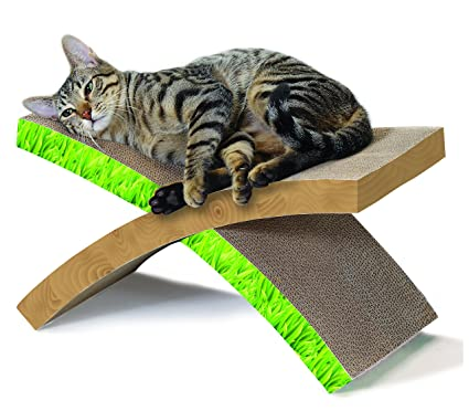 cat hammock scratcher invironment easy life cat scratcher and rest by petstages amazon     cat hammock scratcher invironment easy life cat      rh   amazon