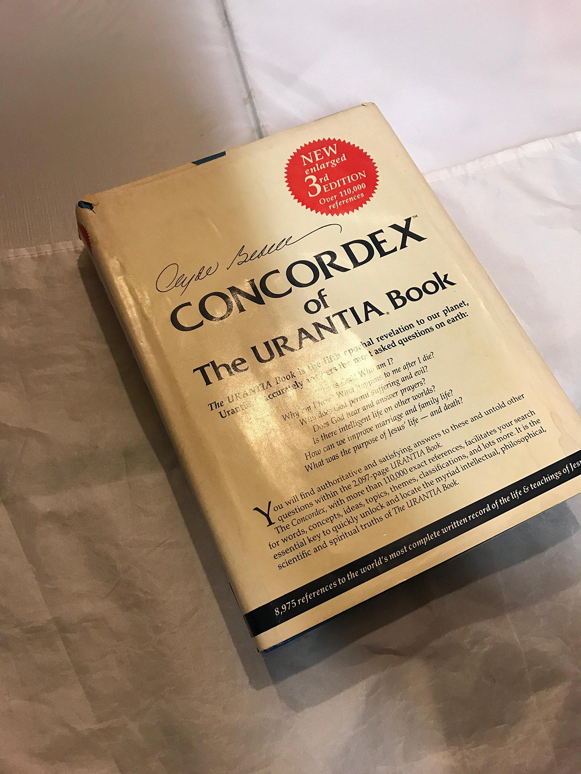 Concordex of the Urantia Book: The Urantia Book is