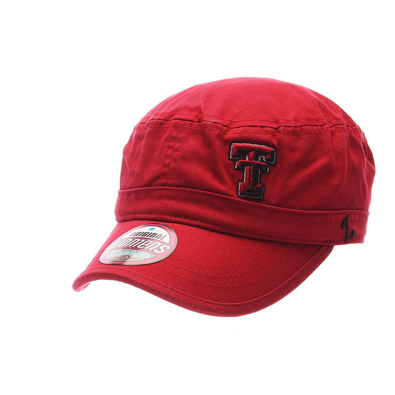 (Texas Tech Red Raiders, Adjustable, Team Color) - Women's Cadet Hat   B072BZBZQM