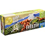 Green'N'Pack 25 Count BPA Free Premium Freezer Slider Bags, 1 gallon