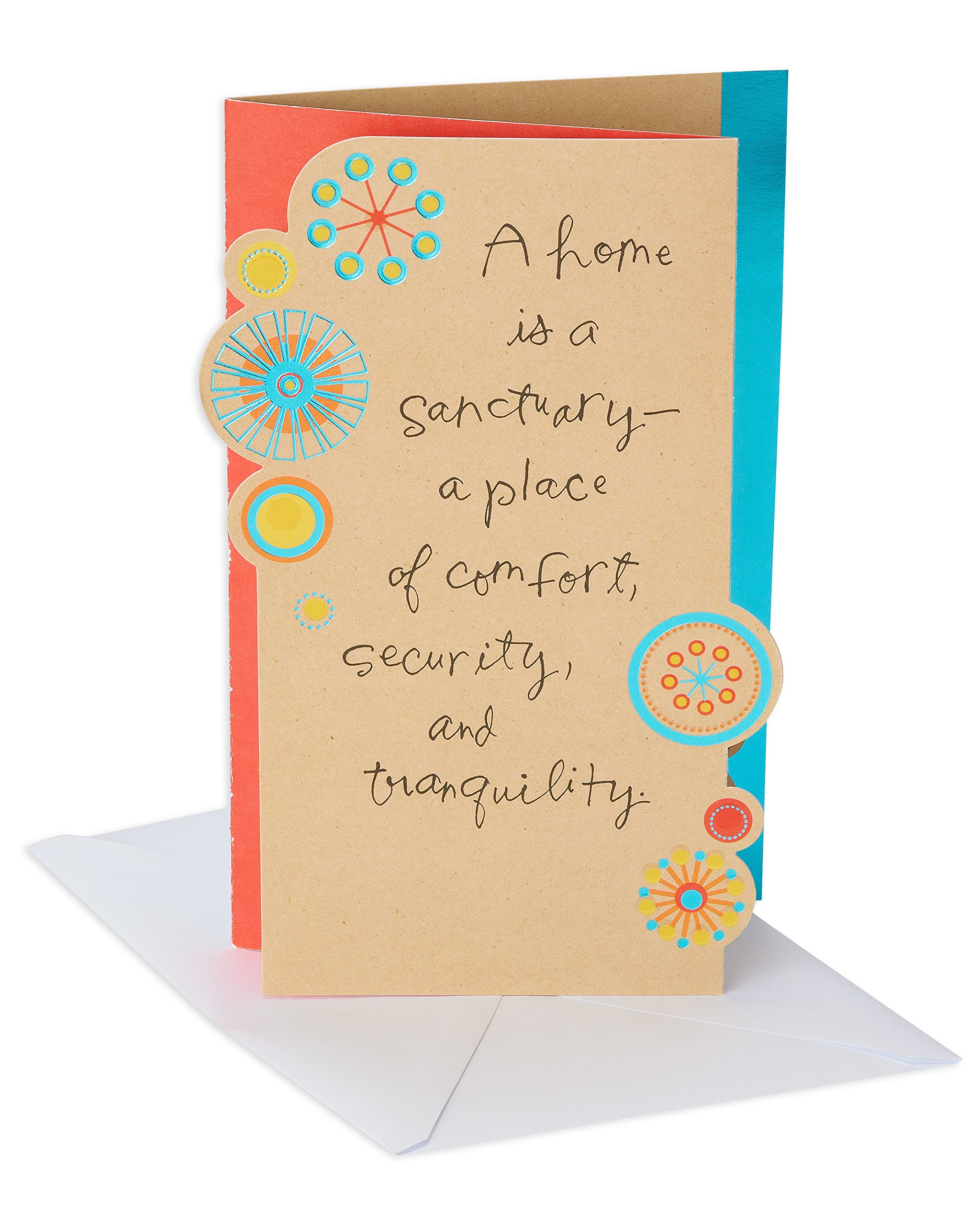 American Greetings Sanctuary New Home Congratulations Card With Foil