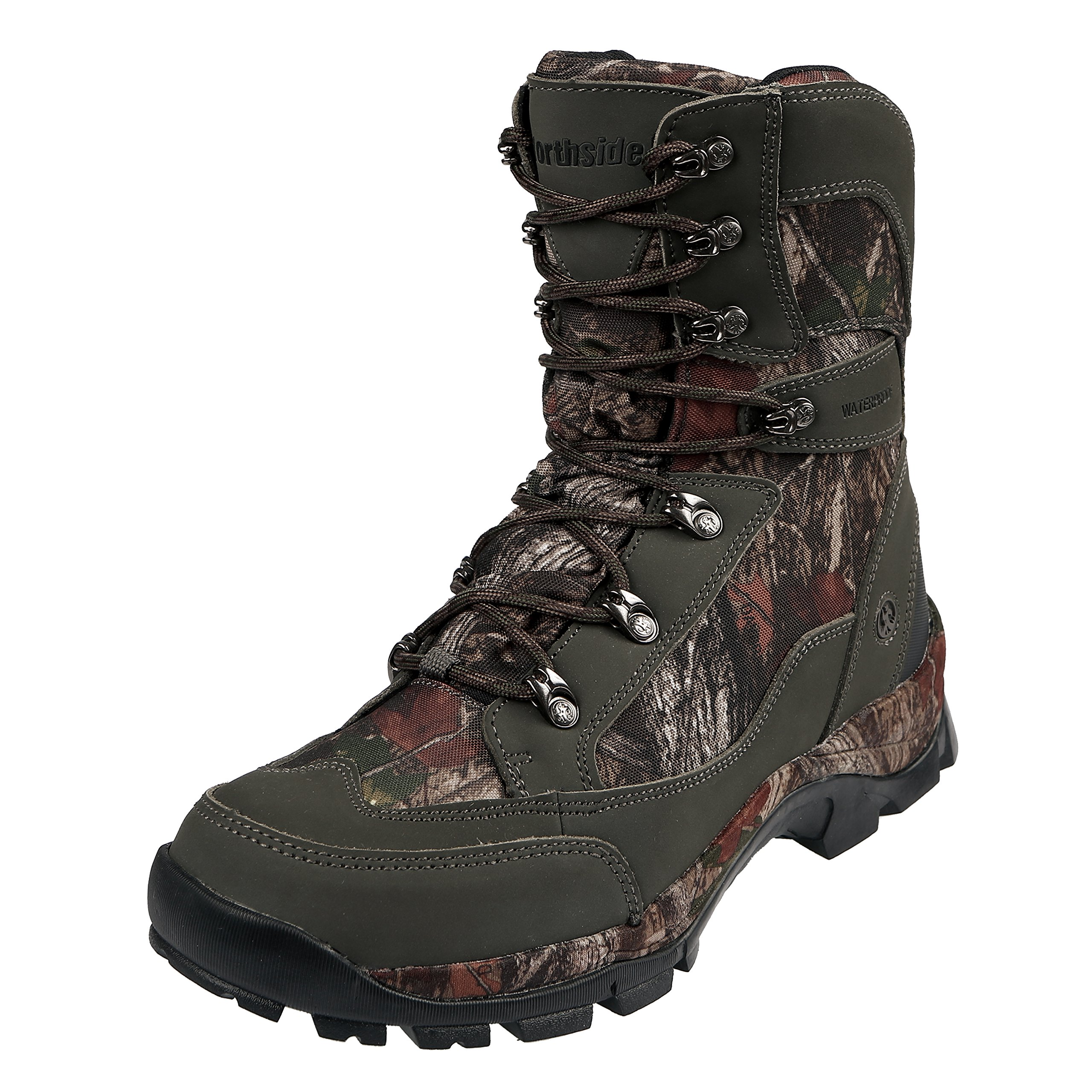 Northside Men's Buckman 800 Backpacking Boot, Dark Olive, 7.5 Medium US