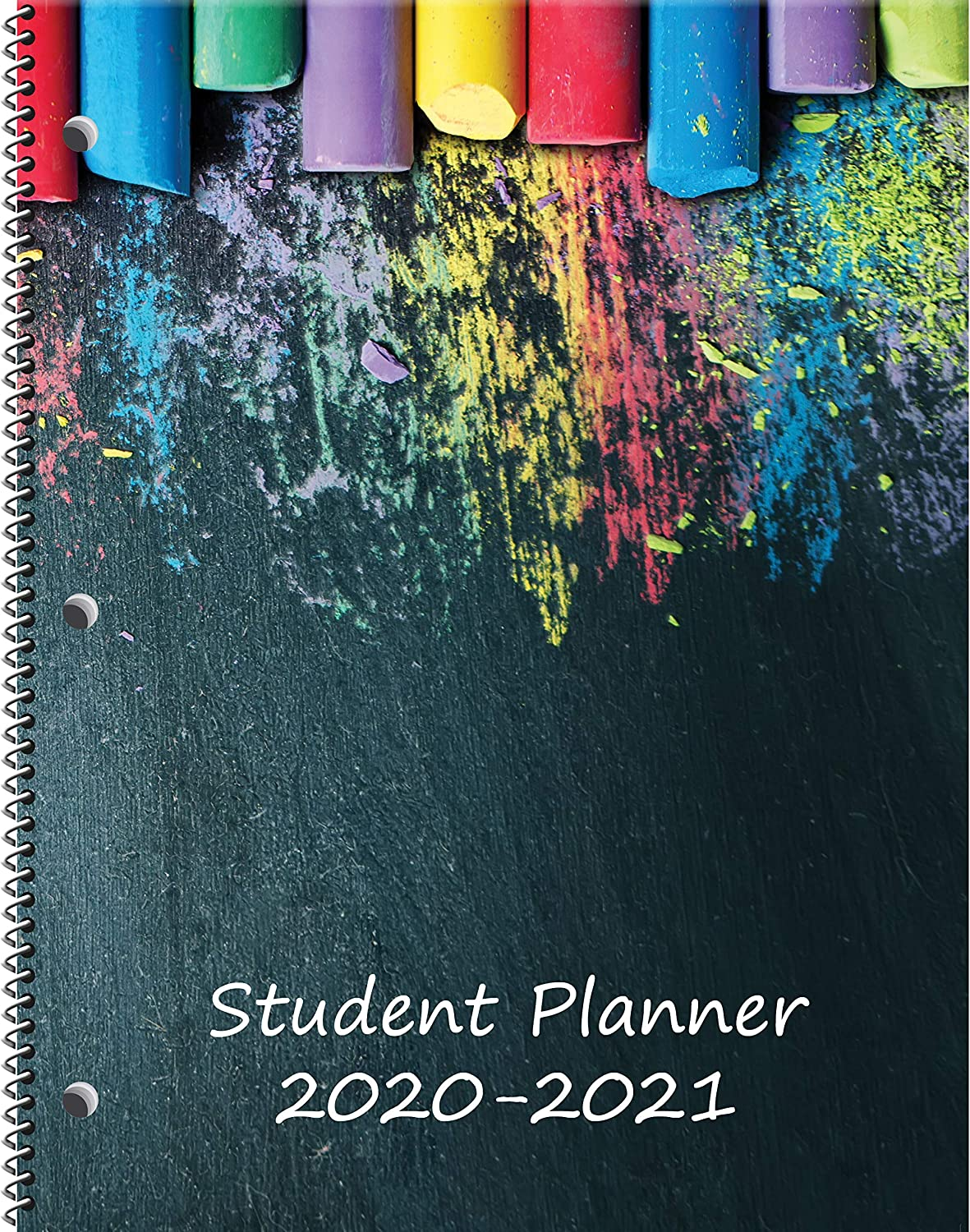 "Dated Middle/High School Student Planner for Academic School Year 2020-2021- Jostens Planner Brand- (8-1/2"" x 11"")"