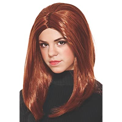 Marvel Captain America: The Winter Soldier, Black Widow Child's Costume Wig: Toys & Games