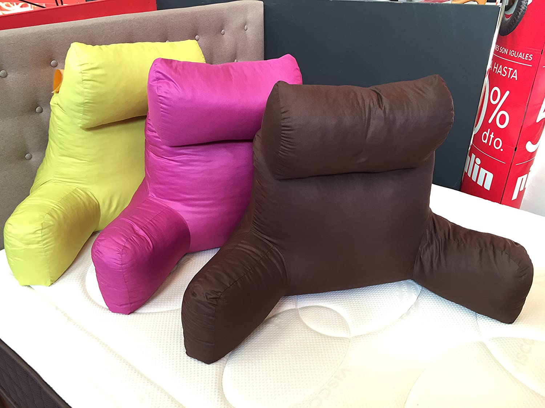 Cojines para sentarse plato baera baera almohada cojines for Cojin para leer en la cama