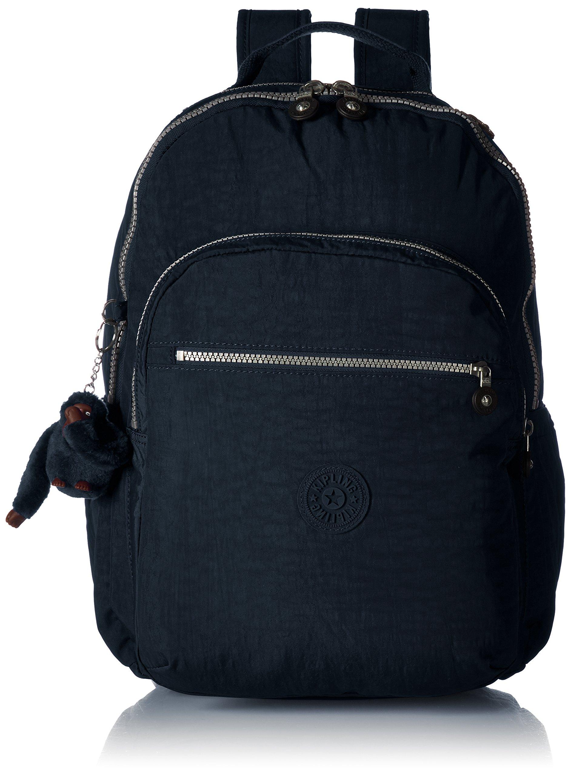 Seoul L Solid Laptop Backpack, True Blue