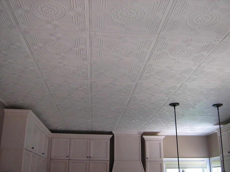 Amazon Rm 30 Polystyrene Styrofoam White Ceiling Tile To