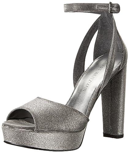 4c565b70edb Amazon.com  Stuart Weitzman Women s Hijinx Platform Sandal  Shoes