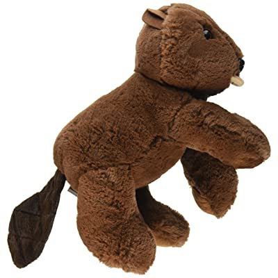 "PurrFection Wilson Snuggle Ups Beaver 16"" Plush: Toys & Games"