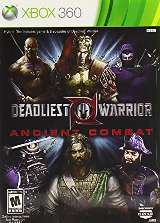 amazon deadliest warrior ancient combat デッドリースト