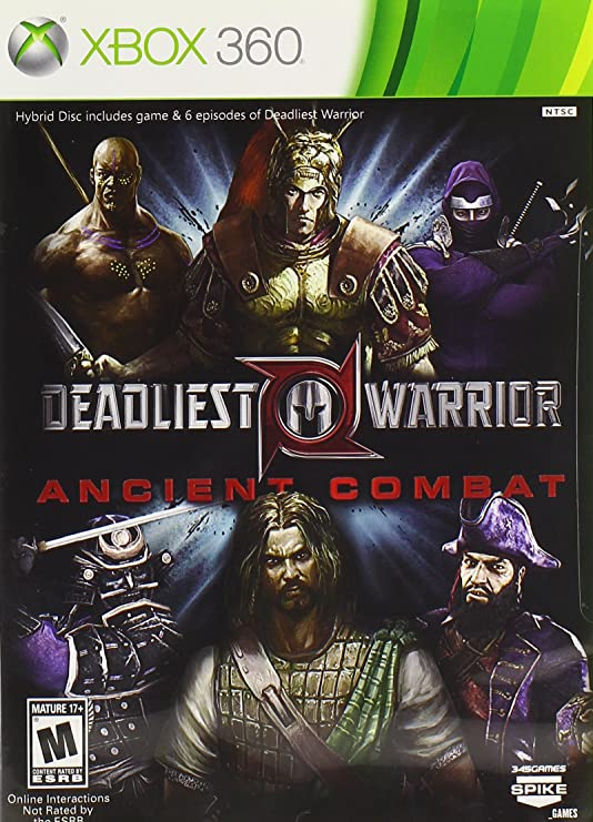 Deadliest Warrior Ancient Combat -PEGI- US [Importación ...