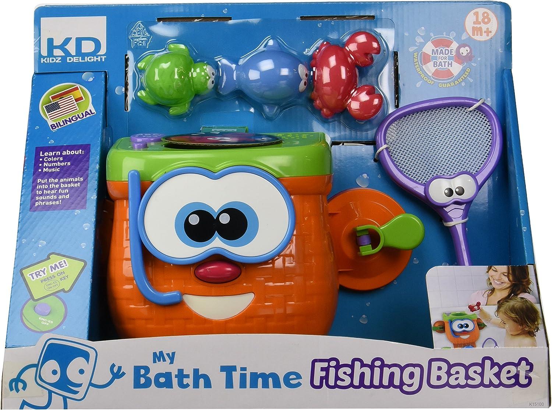 Kidz Delight My Bath Time Fishing Basket