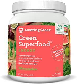 product image for Amazing Grass Green SuperFood Energy Supplement, Watermelon, 24.7 Ounces