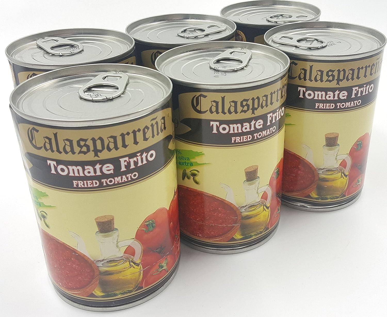 Lote de 6x latas de tomate frito gourmet 390 gr La ...
